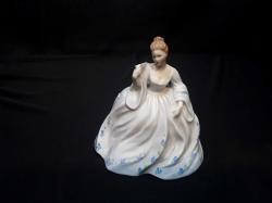 Coalport porcelain figurine