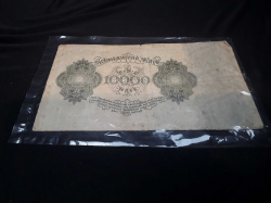 Antique bank note